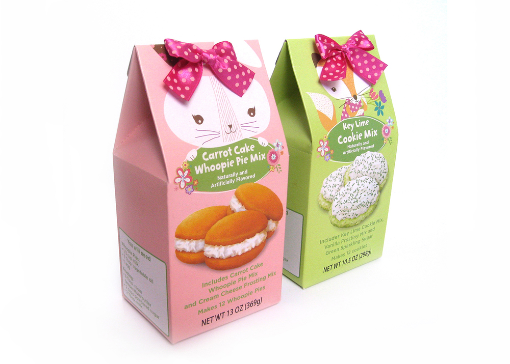 Target private label easter baking mixes - Designer: Devon Adrian