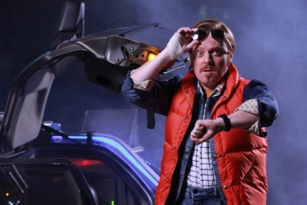 Keith Lemon Goes 'Back To The Future'