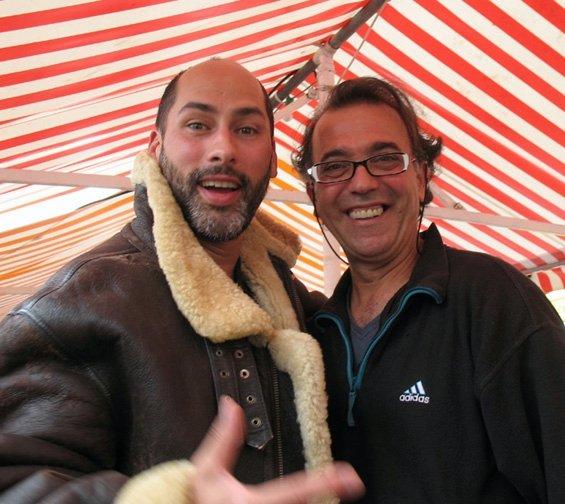 Bruce and Alain