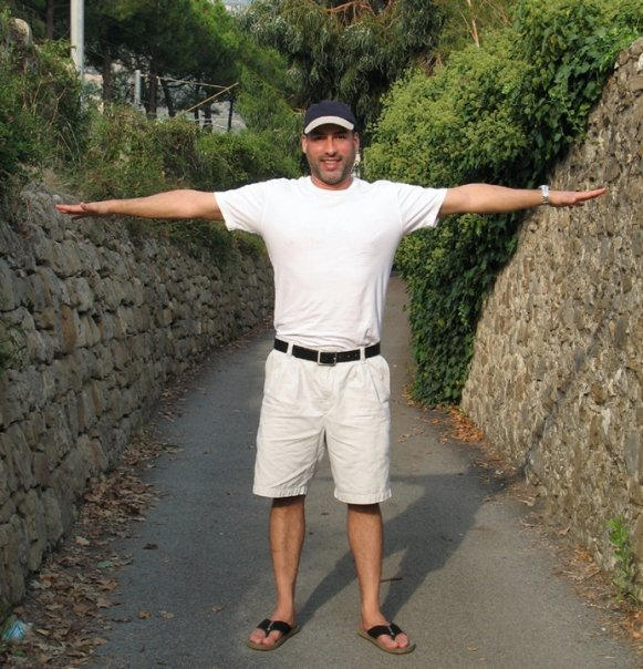 The old roman road that served as a driveway to my uncles villa in ventigmiglia. It was a very tight squeeze even by European car standards