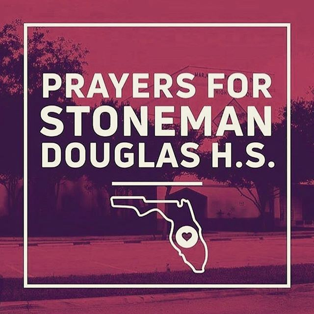 We are praying as our hearts are broken.