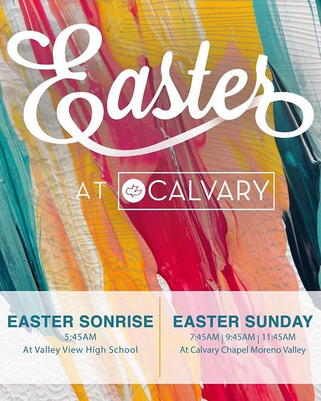 #Repost @unashamed_jrhigh ・・・ Easter weekend is upon us! We invite you to join us tomorrow for SONRISE service and Easter Sunday service in the main sanctuary! #EasterAtCalvary #Ccmoval #souledhs