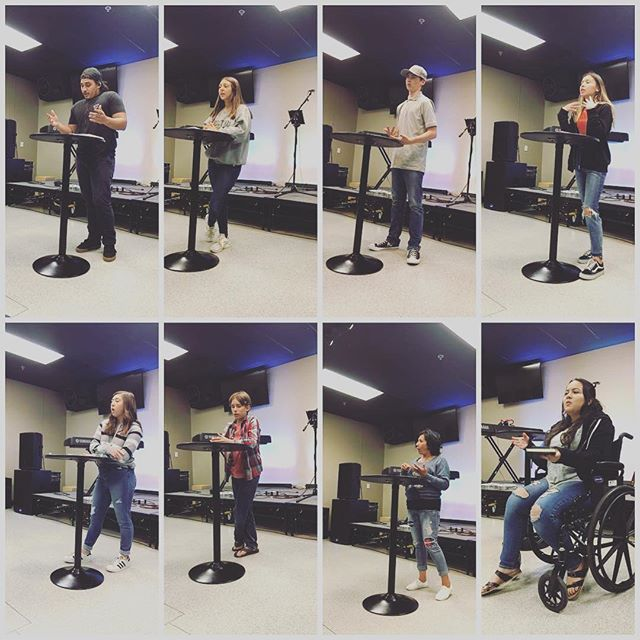 A few of the students who shared with us tonight! Hearing young people talking about what God is doing in their life is one of the most exciting things to witness! #souledhs