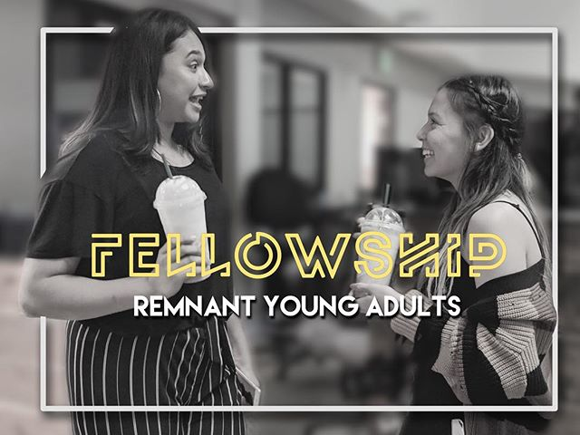 Come fellowship with us tonight!  We've got a special message coming our way, you don't want to miss out!  Tag someone to invite them to be here! #theRemnantYA