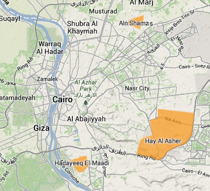 Gang territories highlighted in orange.