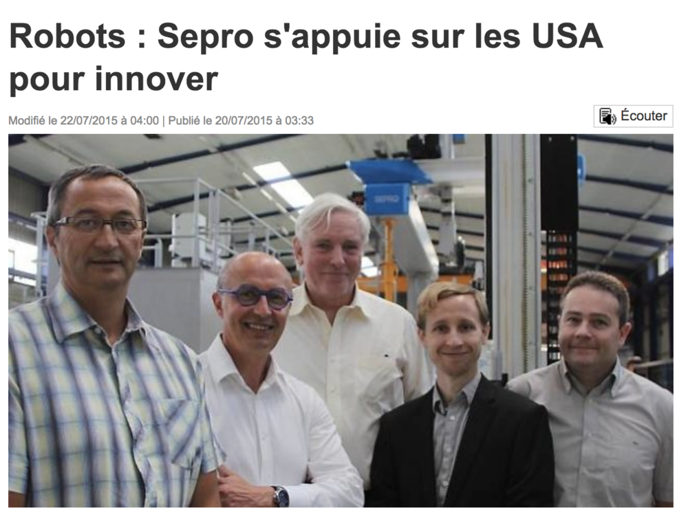 Robotics Innovation, France 2015
