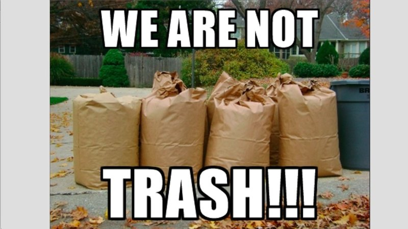 We are not trash petition.jpg