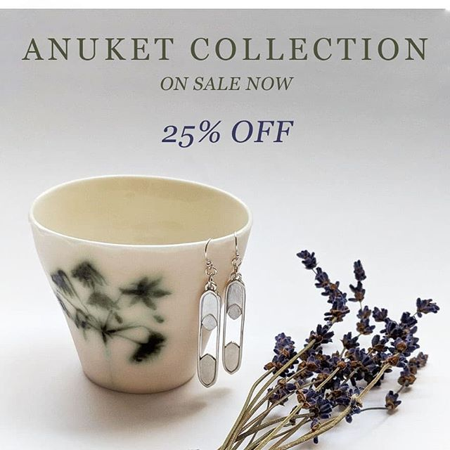 SALE is ON! Check out the selected pieces from the Anuket Collection. Grab them at an incredible discount!  See full collection at profile link. ⠀⠀⠀⠀⠀⠀⠀⠀⠀