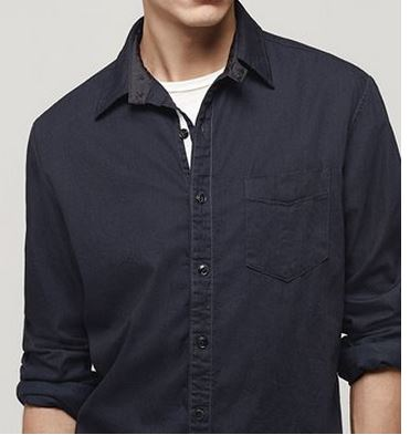 Field Shirt: Indigo $255
