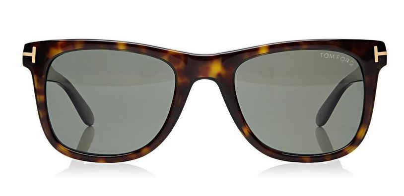Tom Ford    Leo Square Polorized Sunglasses Classic Havana $380