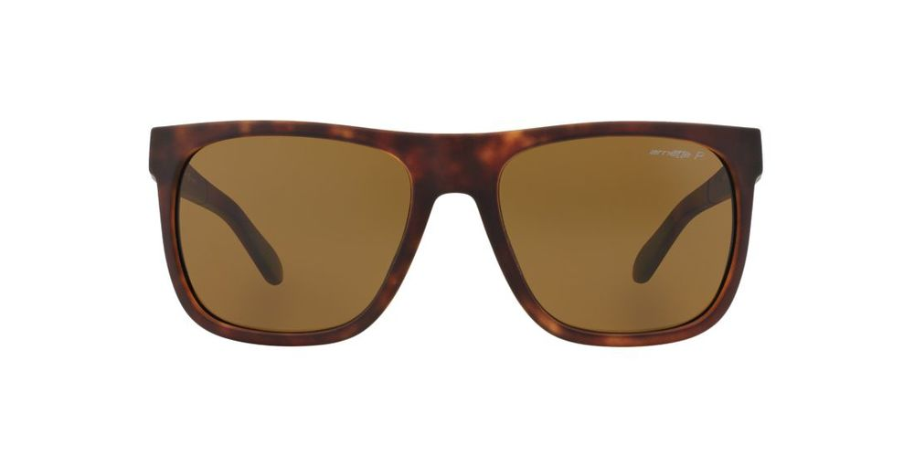Arnette Polorized Square Sunglasses Tortoise Brown $99.95