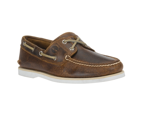Timberland Men's Earthkeeper Two Eye Boat Shoes Brown Oiled $95