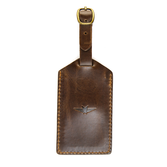 Leather Luggage Tag $23.98