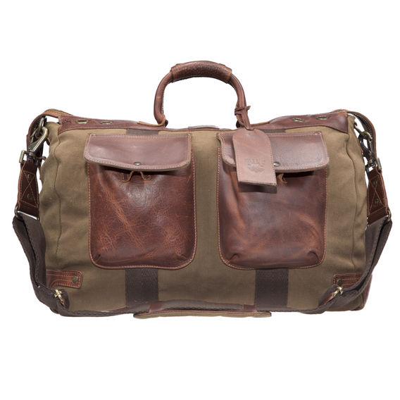 Leather Accent Duffle $394.98