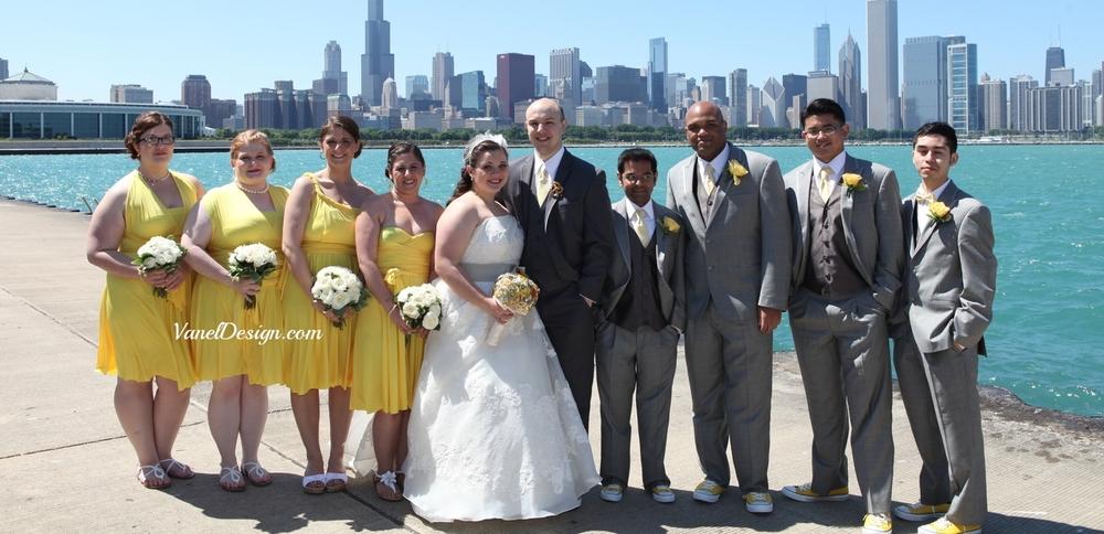 Yellow Convertible Bridesmaid 2.jpg