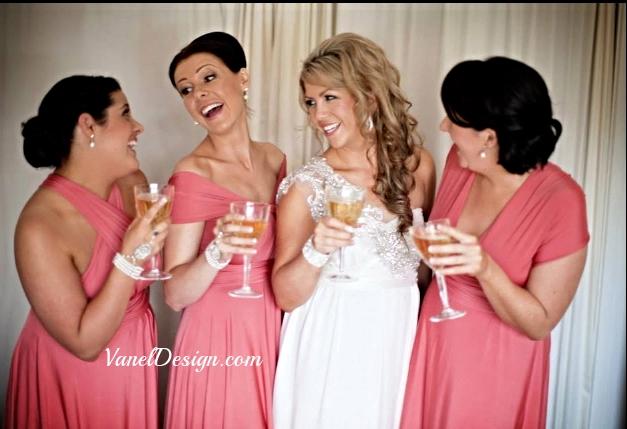 Convertible Bridesmaid Dress - Pink.jpg