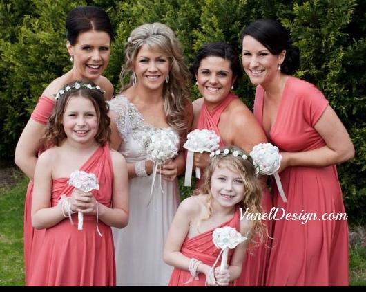 Pink Bridesmaid Convetible Dress.jpg