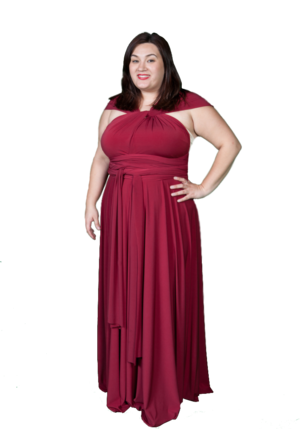 Plus Size Convertible Dress — Vanel Design