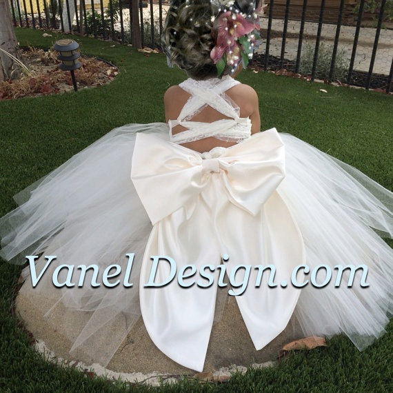 Flower Girl Tutu Dress — Vanel Design
