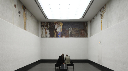 Gustav Klimt's Beethoven Frieze