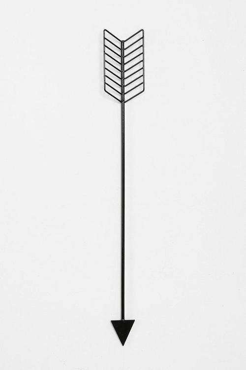 Arrow Wall Sculpture by Urban Outfitters