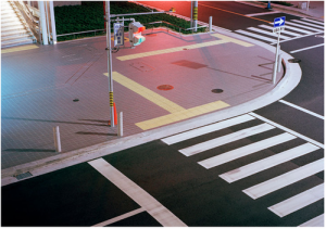 Strassenecke /Street Corner by Julian Faulhaber,2003