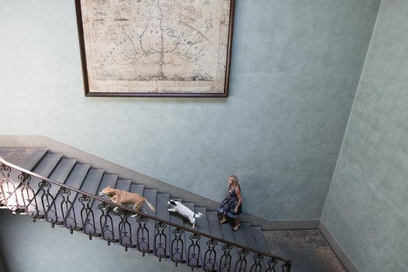 In the Palazzo Capponi Canigiani, by Oberto Gili