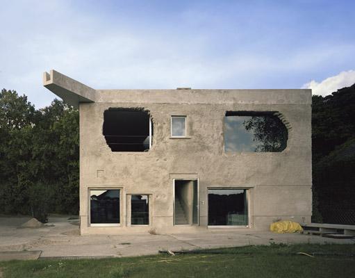 by Architect Brandlhuber, Antivilla in Krampnitz (exterior)