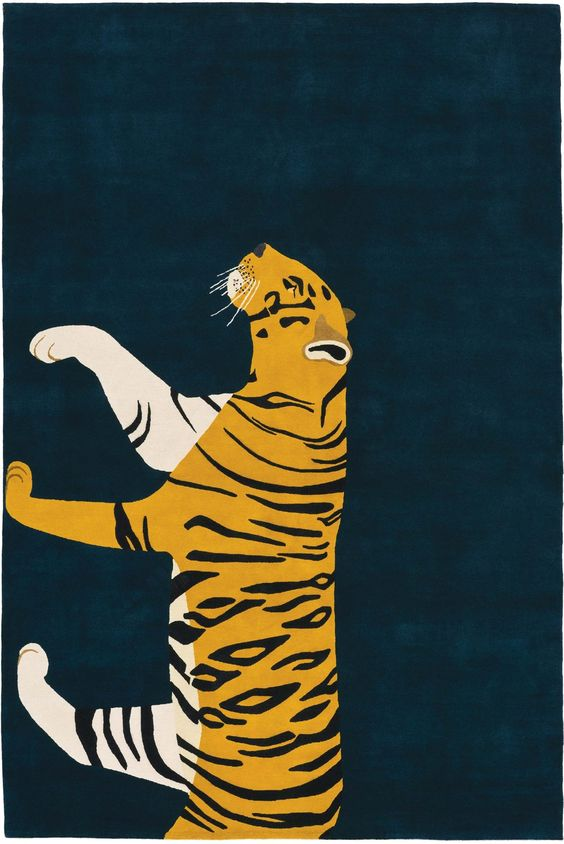 Tiger for The Rug, by barber&osgerby