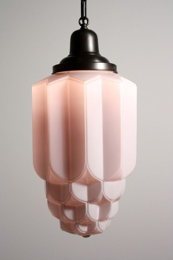 Art Deco Lamp, source unknown