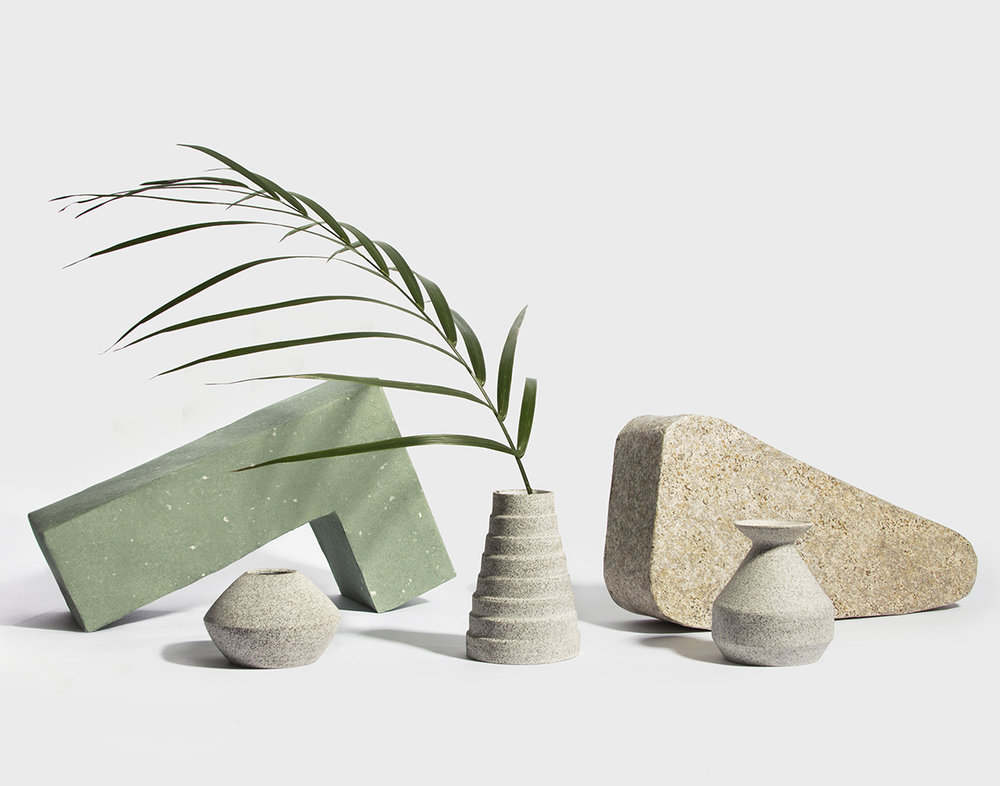 Plant holder set  by Natalie Weinberger