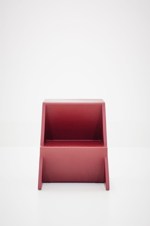 Mono, minimal stool by Munich-based designer Steffen Kehrle.