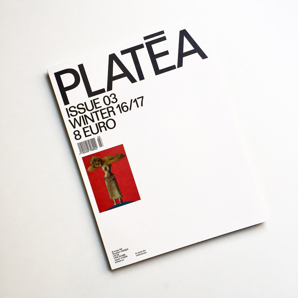 Platea Magazine, AD by Daily Dialogue