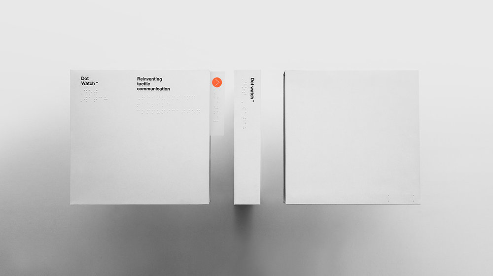 Cloudandco, Dot Watch Packaging, 2017