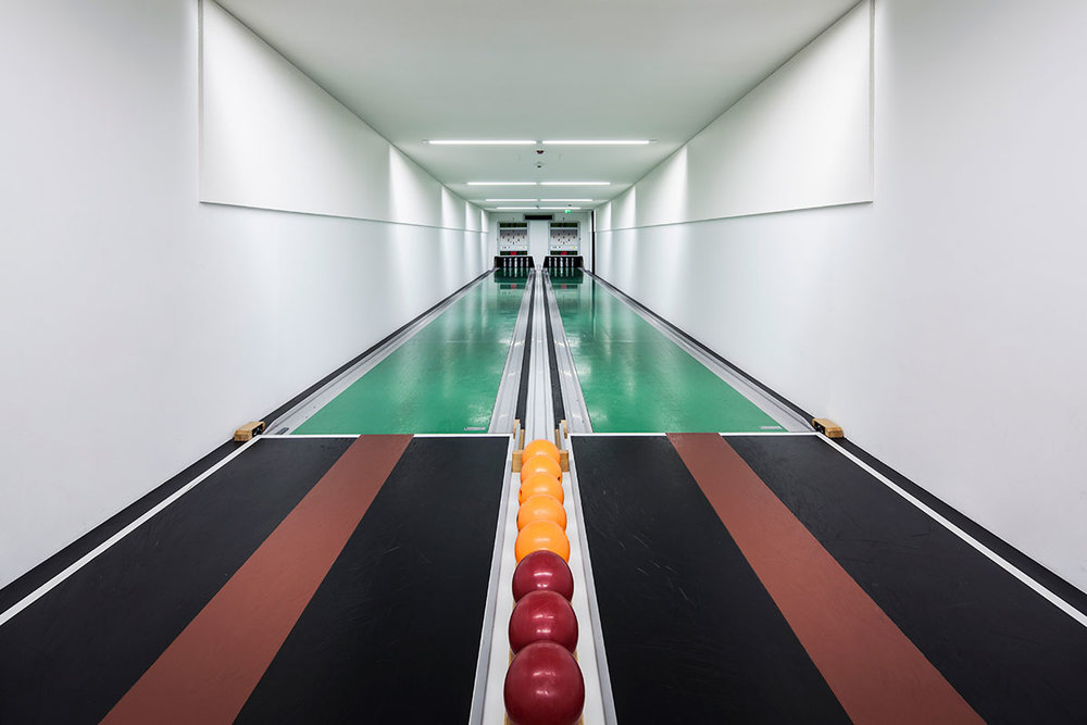Vintage Bowling Alleys by Robert Götzfried