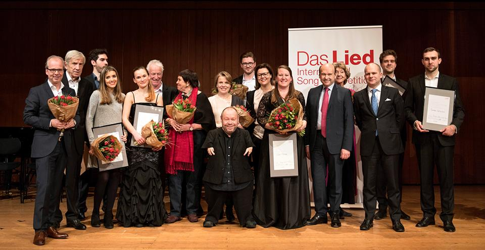 2017 Das Lied prize winners and Jury
