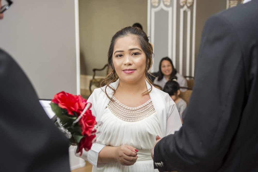 Alderlea Brampton Wedding Ceremony