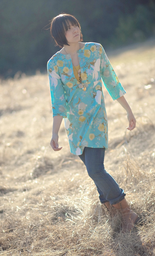 Schoolhouse Tunic PDF Sewing Pattern — Sew Liberated