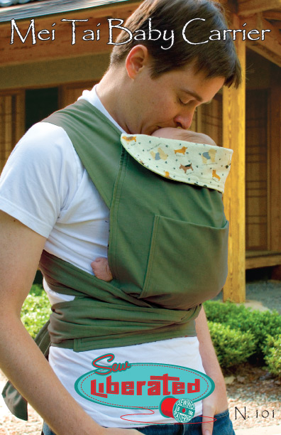 Mei Tai Baby Carrier PDF Sewing Pattern — Sew Liberated