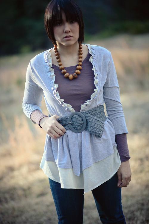 Aurelia Cardigan Pdf Sewing Pattern Sew Liberated