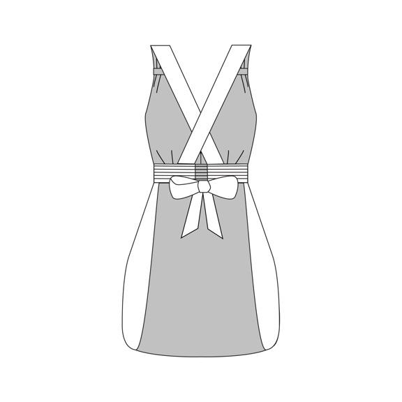 Gathering Apron PDF Sewing Pattern — Sew Liberated