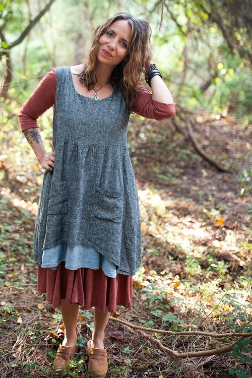 Reversible Metamorphic Dress PDF Sewing Pattern — Sew Liberated