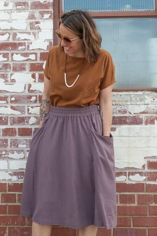 Gypsum Skirt PDF Sewing Pattern — Sew Liberated