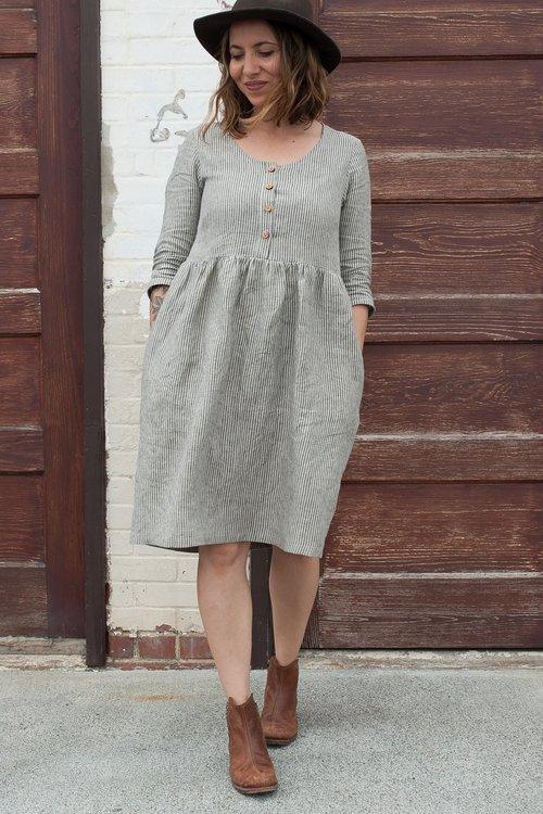 Hinterland Dress PDF Sewing Pattern — Sew Liberated