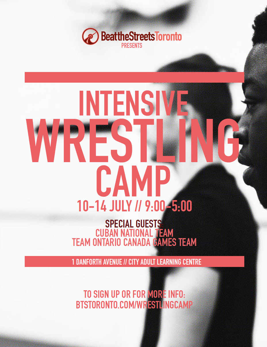 BTST Intensive Wrestling Camp 2017