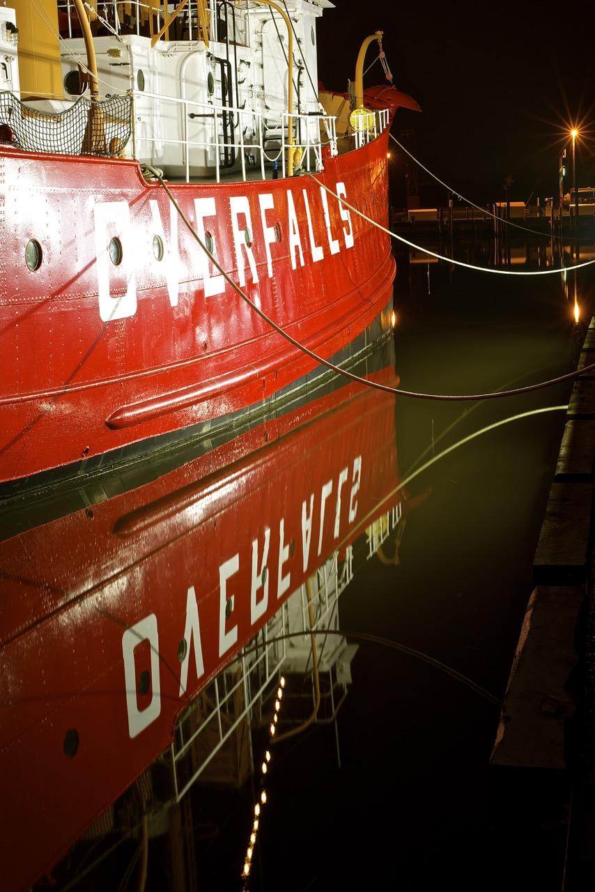 Overfalls Reflections