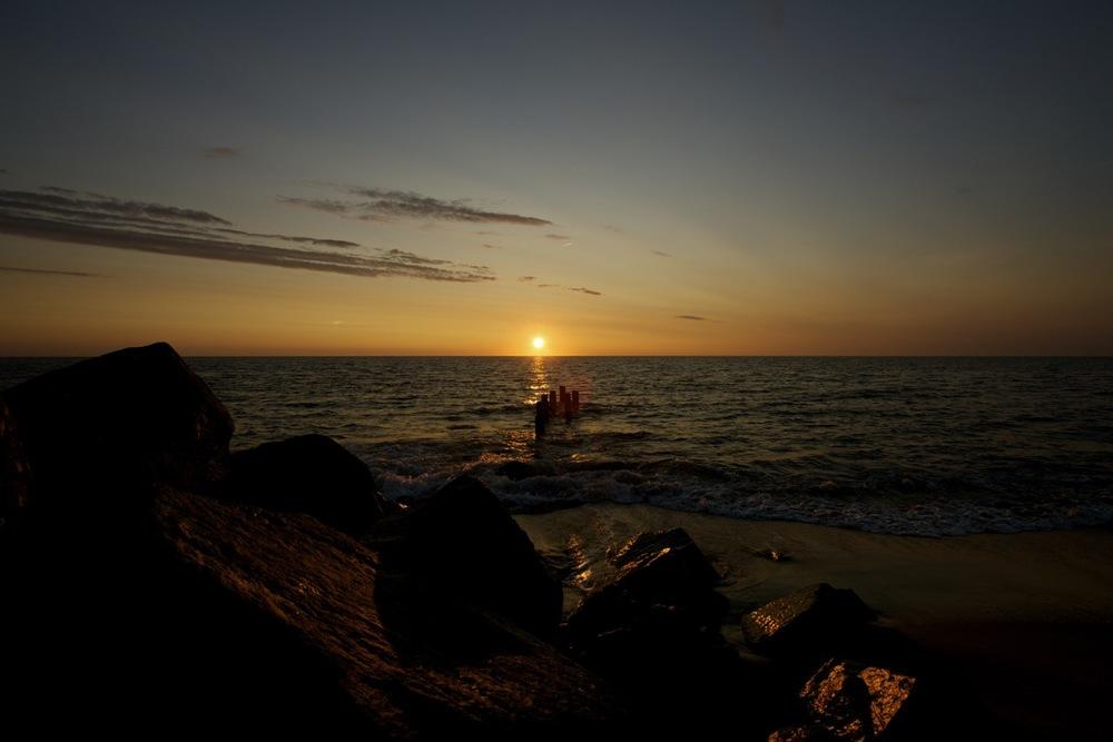 Sunrise at Herring Point