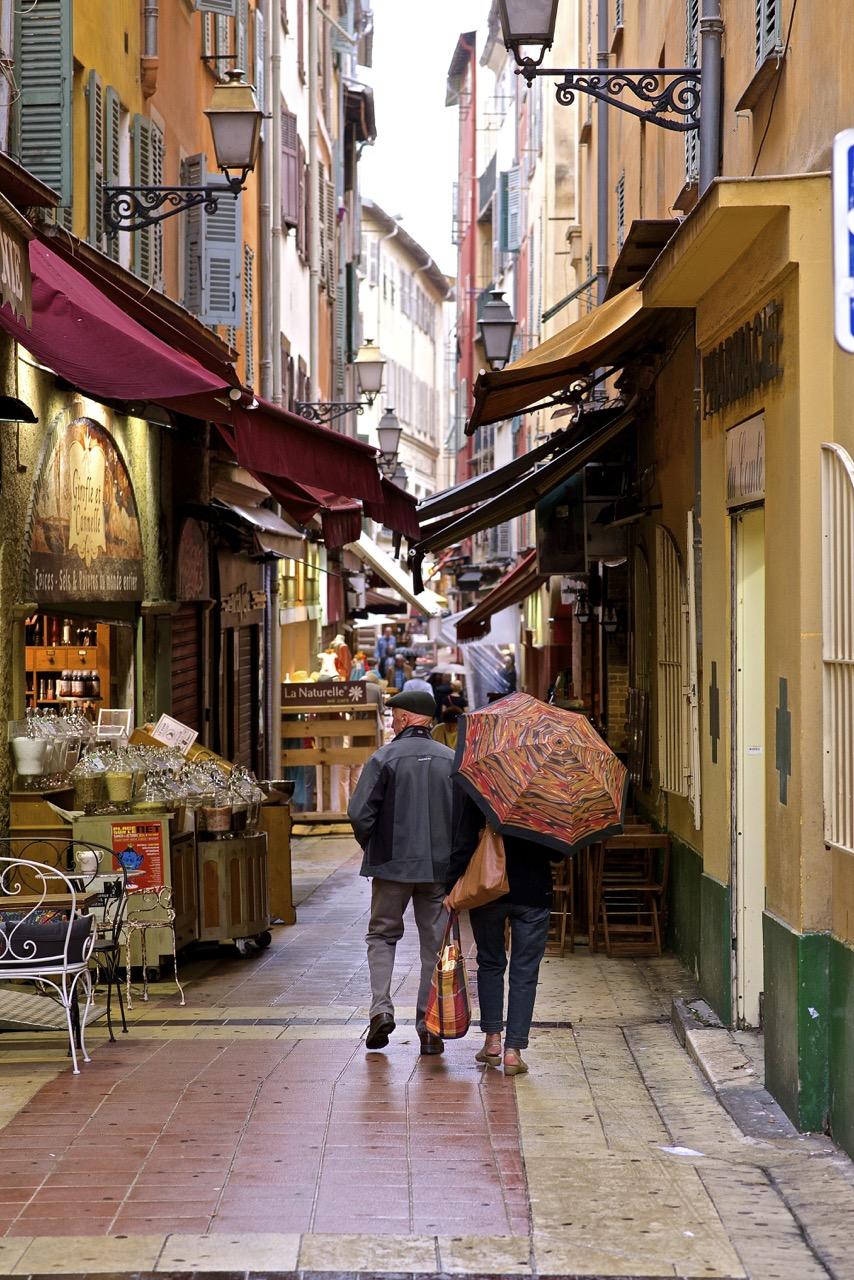 Shopping in Nice