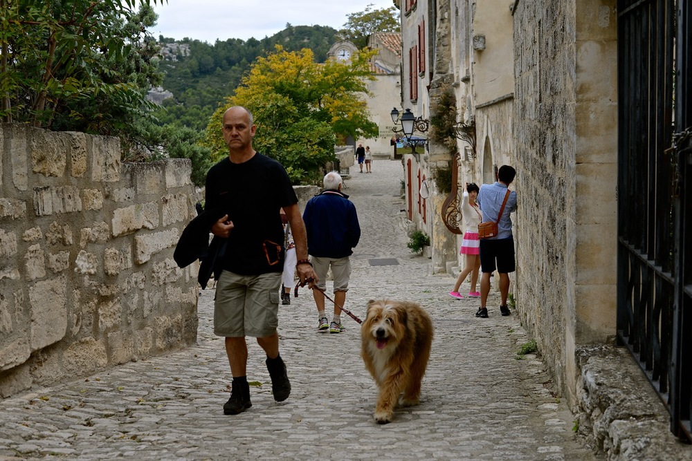 Streets of Les Baux-de-Provance