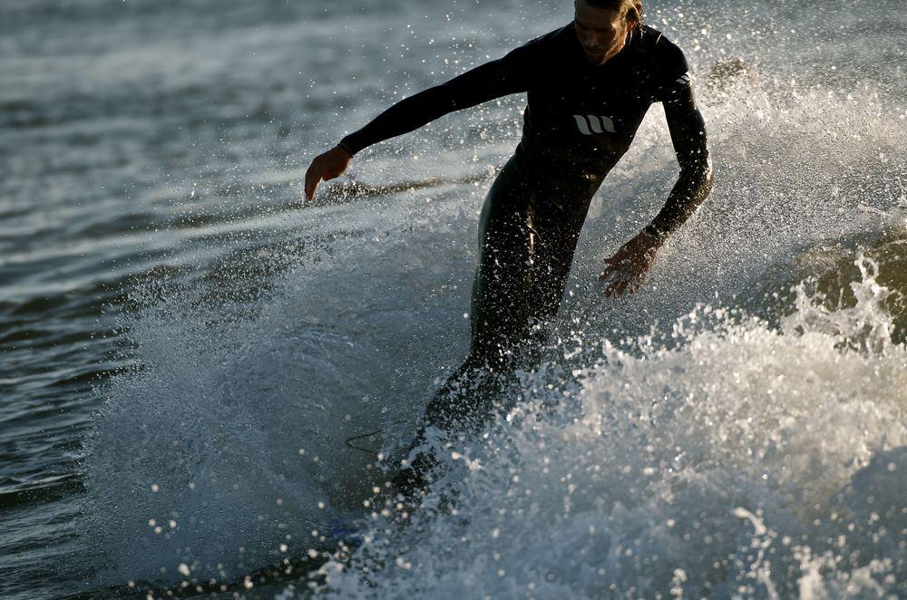 Herring Point Surfer